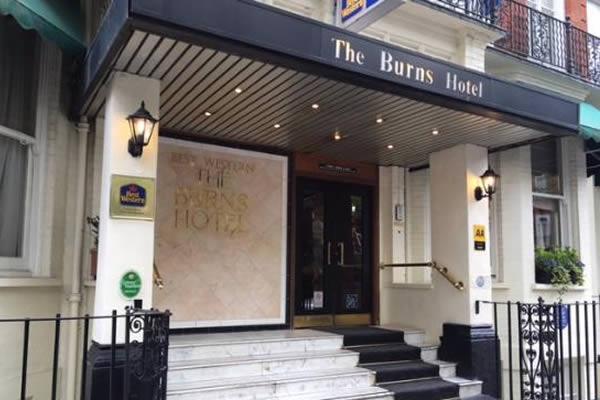 Best Western Burns Hotel Kensington Single Room Image