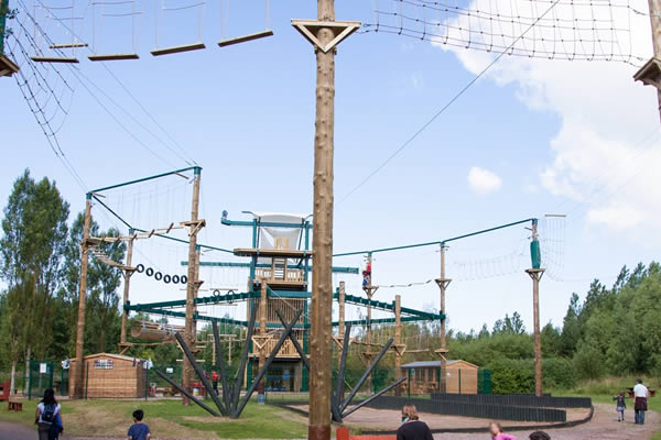 Conkers Adventure Park for Three Image
